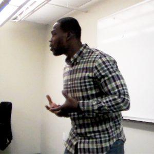 Chaz Jackson Motivational Youth Speaker Speaking at Southeastern Sports Medicine Leadership Meeting