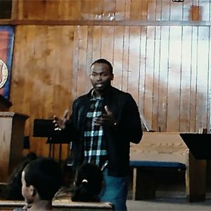 Chaz Jackson Motivational Youth Speaker Speaking to Kids at Salvation Amy, Boys and Girls Club