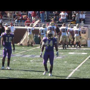 Chaz Jackson Motivational Youth Speaker on football field in uniform
