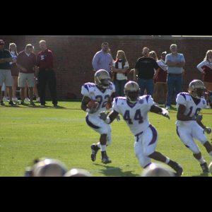 Chaz Jackson Motivational Youth Speaker Playing Football