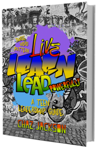 Chaz jackson Speaks Live Learn and Lead Book Cover